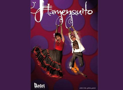 """Flamenquito"" umorezko musikala gaur Sutondon"