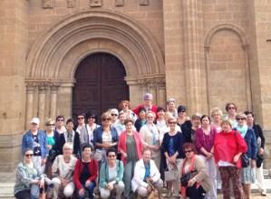 Pagatxa elkartekoak Salamancan ibili dira bidaian