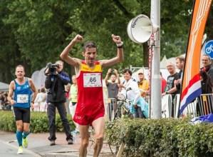 Asier Cuevasek min hartu zuen 100 kilometroko Mundialean