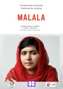 """""""Emakumeen istorioak"""" hurrengo saioan: Malala"""