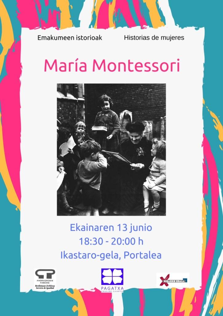 Emakumeen istorioak: Maria Montessori