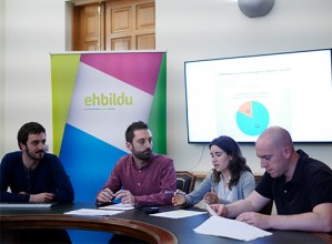 """Udal Gobernuak Plan Estrategikoaren garapenarekin duen """"utzikeria"""" salatu du Bilduk"""