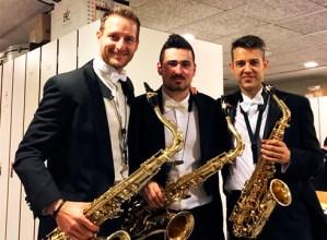 """Xabier Oruesagasti, saxofoi-jolea: """"Ustekaberekin ikasi ditudan kontzeptu eta teknikak oso baliagarriak izan dira"""""""