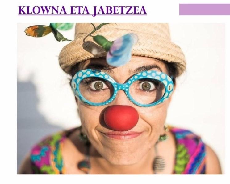 Klowna eta Jabetzea tailerra Andretxeko Jabetze Eskolan