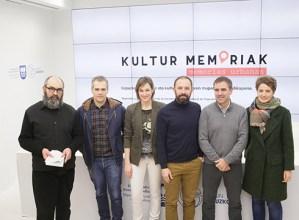 Eibarren burutuko den Kultur Memoriak ekimena aurkeztu dute Aldundian