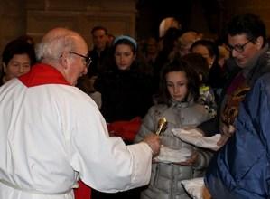 Eibartar askok eutsi zioten San Blas opilak bedeinkatzera eramateko ohiturari