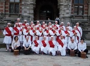 Kezka dantza taldeko 36 kide Belgikan egon dira