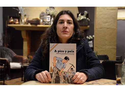 """Aiala Oronoz, ikerlaria: """"Zigor-destakamentuen gaia ezagutzera eman behar da, ez delako batere landu"""""""