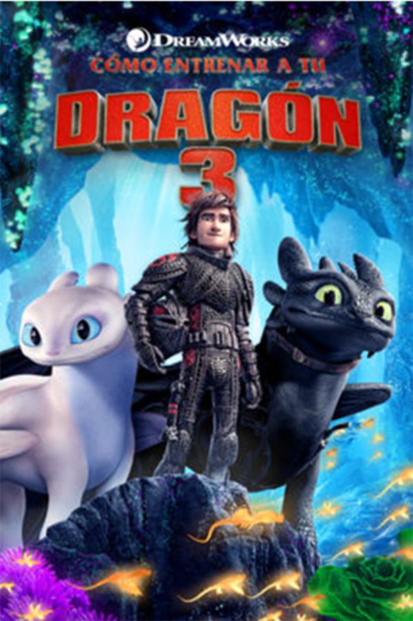 """Zinea: """"Como entrenar a tu dragon 3"""""""