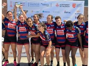 Eibar Rugby Taldeak Rugby Seven Challengea irabazi du