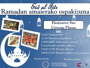 Eid fitr jaia @ Untzaga