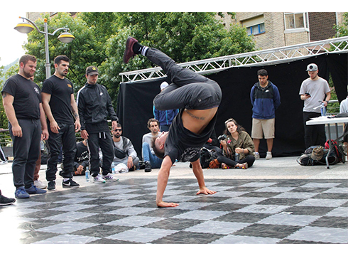 Eibarko V. Break Dance eta All Style txapelketa egingo da bihar