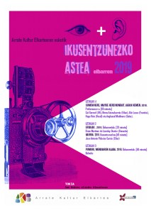 """Ikusentzunezkoen Astea: """"Somewhere, maybe here"""" (""""Nonbait, agian hemen"""") @ Coliseo antzokian"""