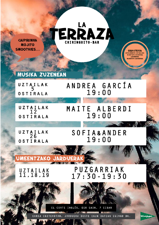 Musika Zuzenean: Sofia&Ander