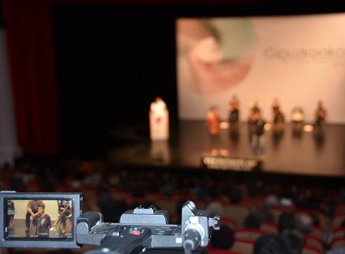 Gipuzkoako Bertsolari Txapelketako hirugarren final-laurdena jokatuko da bihar Coliseoan