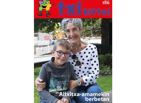 Aitxitxa-amama eta biloben arteko elkarrizketak argitaratuko ditugu Txikitto aldizkarian