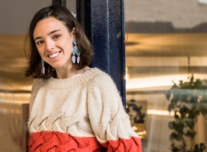 """Maria Romero Laspiur (moda diseinatzailea): """"Gure proiektuan artea, diseinua eta teknologia berriak elkartzen dira"""""""