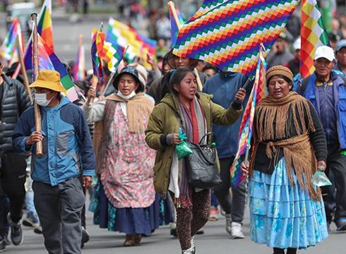 Boliviako estatu kolpearen aurrean erakunde adierazpen proposamena aurkeztu du Bilduk
