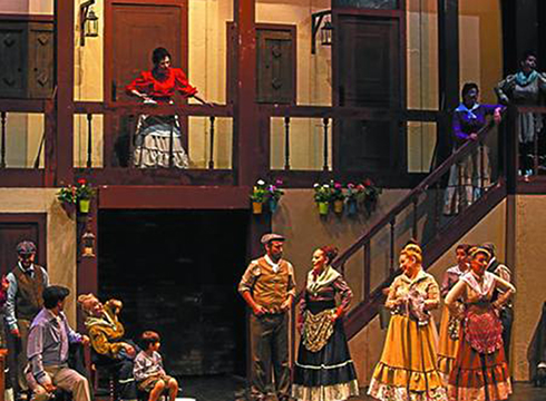 """""""La Revoltosa"""" zarzuelaren bertsio eguneratua eskainiko dute Coliseoan"""