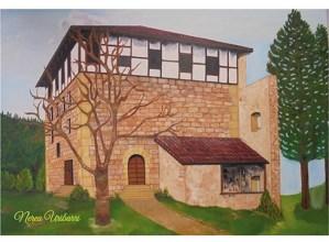 Domekara arte egongo da zabalik Nerea Uribarriren pintura erakusketa Topalekuan