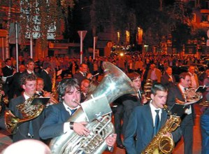 Santa Zezilia ospatzeko kalejira eta serenata egingo dituzte gaur musikariek
