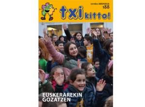 Euskeraren eguna eta Gabonak protagonista abenduko Txikitto aldizkarian