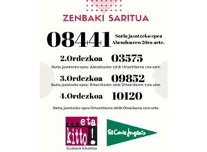 8.441 zenbakiari egokitu zaio …eta kitto!-ren Gabonetako otarra