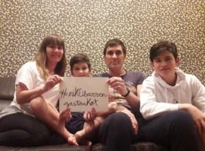 #nikEibarrengastaukot familien kanpaina ere bada