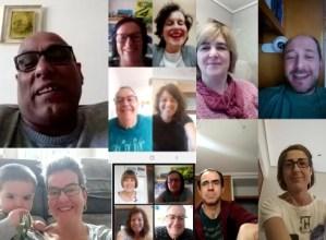 Berbalagunek online elkartzen jarraitzen dute, euskera praktikatzeari uko egin gabe