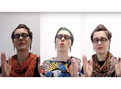 Musika familian lantzeko YouTubeko kanala sortu du Maite Arroitajauregik
