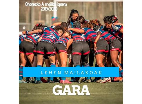 Eibar Rugby Taldea lehen mailara igo da