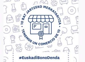 """Establezimendu txikiek gaurtik aurrera egin dezakete bat """"Euskadi Bono-Denda"""" kanpainarekin"""