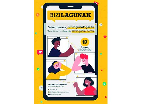 Bizilagunak ekimenaren zazpigarren edizioa online egingo da hilaren 29an
