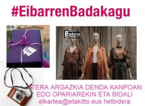 #EibarrenBadakagu, Euskeraz Primeran! bidali zure argazkia