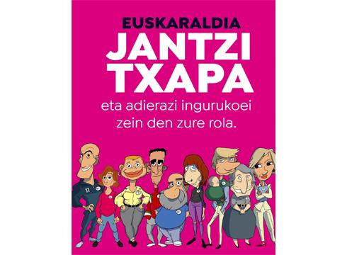 Euskaraldiaren bigarren edizioari hasiera eman zaio gaur