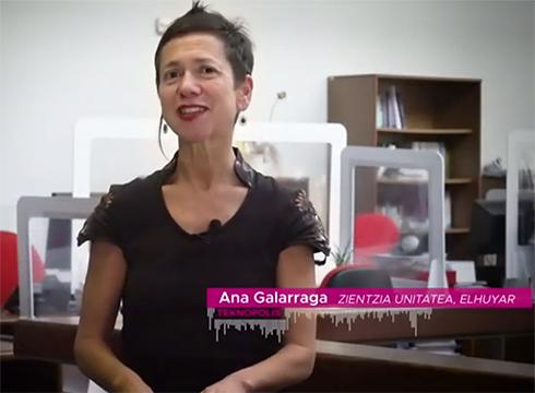 """Talde immunitatea zertan datzan azaldu du Ana Galarragak """"Koronabirusaren gakoak"""" Teknopolis saioko bere atalean"""