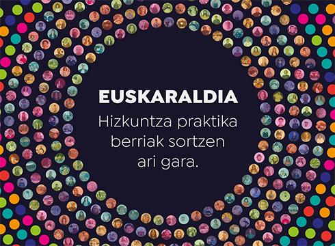 """Euskaraldiaren bultzatzaileek nabarmendu dutenez """"ariketa sozial masiboa"""" izan da bigarren edizioa"""