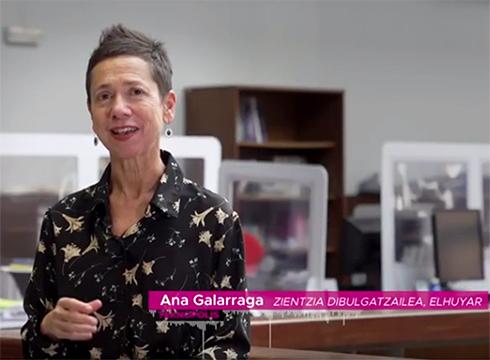 """Anosmiari buruzko azalpenak eman ditu Ana Galarragak """"Koronabirusaren gakoak"""" tarteko aurtengo lehen atalean"""