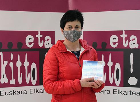 Belen Aranak irabazi du #nikEibarrengastaukot #Eibarrenbadakagu lehiaketa