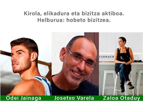 """Gaur egingo da """"Kirola, elikadura eta bizitza aktiboa"""" izenburua duen mahai-ingurua Portalean"""
