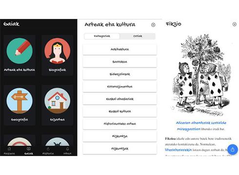 Txikipedia aplikazioa sortu du Euskarazko Wikipediak