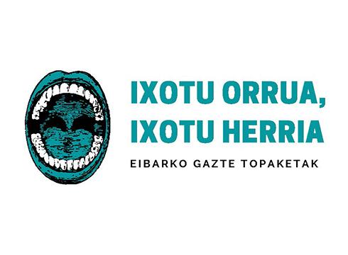 """""""Ixotu orrua, ixotu herria"""" Eibarko Gazte Topaketak egingo dira gaurtik aurrera"""