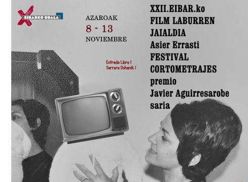 Zabalik dago XXII. Eibarko Asier Errasti Film Laburren Jaialdirako izen-emate epea