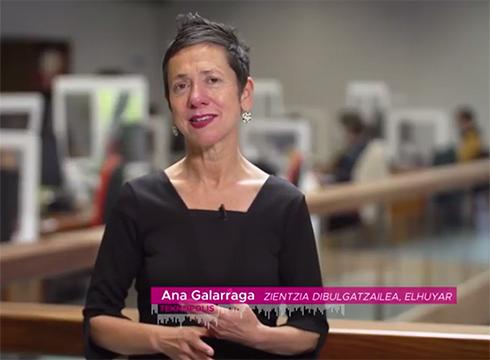 Ariketa fisikoa egiteak COVID-19ari aurre egiten nola lagundu dezakeen azaldu du Ana Galarragak