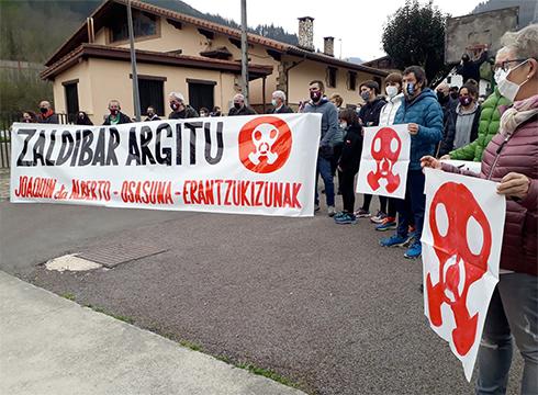 Beltran bilatzeari lagako diotela eta, protesta egiteko manifestazioa deitu du Zaldibar Argituk, 19:00etan Untzagan