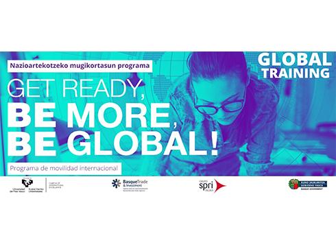 Zabalik dago Global Training 2021 beken deialdia