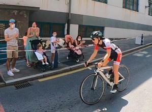 Jaz Eibar Triatloi Taldeko hiru ordezkari izan ziren Espainiako Sprint Triatloi Txapelketarako sailkatzeko Portugaleteko proban