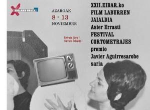 """Ostegunean amaituko da """"Asier Errasti"""" Film Laburren Jaialdirako izena emateko epea"""