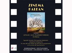 """Bihar hasiko dira udako zine emanaldiak """"Big fish"""" filmaren proiekzioarekin"""