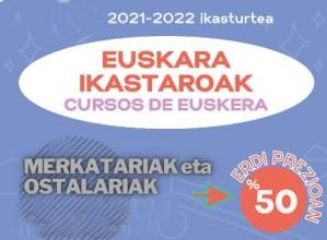Euskalduntze kanpaina berezia Eibarko merkatari eta ostalarientzat euskaltegietan